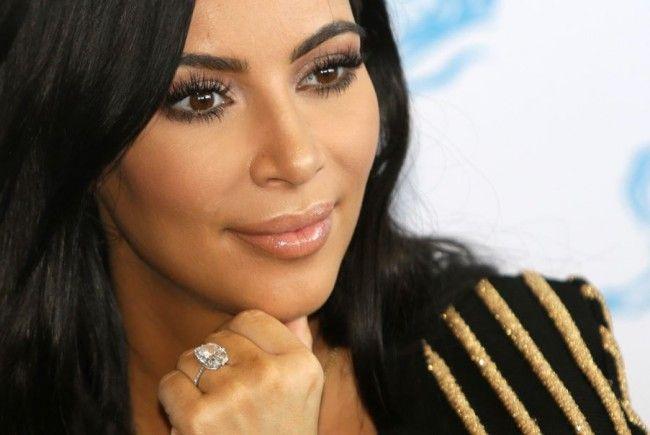 Kim Kardashian weiß sich in Szene zu setzen.