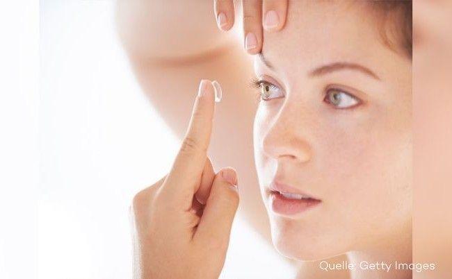 Bakterien im Auge: Kontaktlinsen und ihre Gefahr