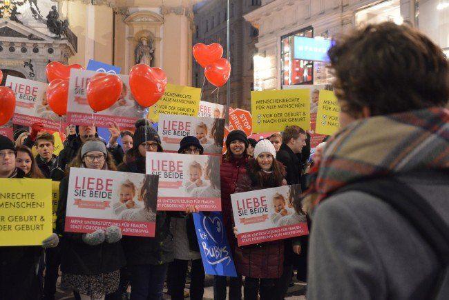 Die Abtreibungsgegner demonstrieren wieder in Wien