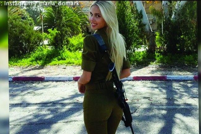Maria Domark ist ein Star auf Instagram.