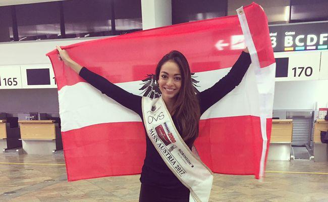 Celine Schrenk vertritt Österreich bei der Miss Universe-Wahl in Amerika.