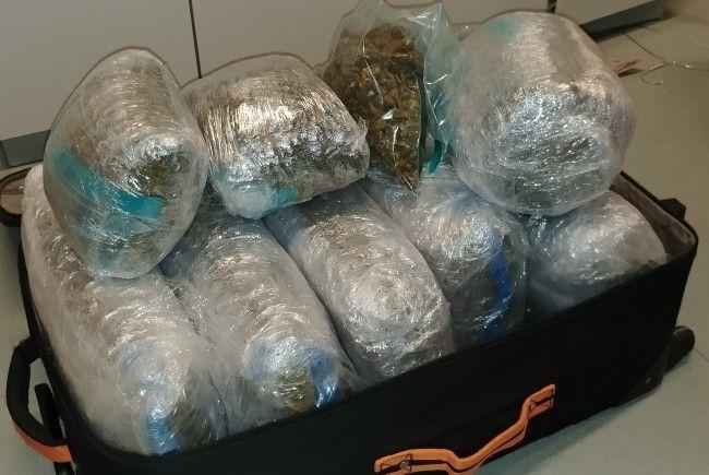 Mega-Drogenfund in einer Wohnung in Wien-Meidling.