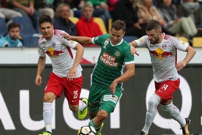 SK Rapid Wien und Red Bull Salzburg treffen aufeinander.