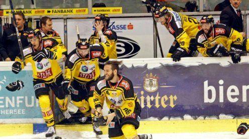 Sieg gegen die Black Wings Linz: Vienna Caps bauen Vorsprung aus