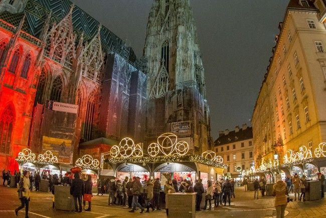weihnachtsmarkt wiener stephansplatz