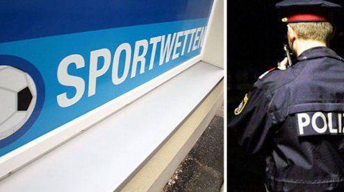 Mehrfach bewaffneter bedroht Kellnerin in Wettcafé in Wien