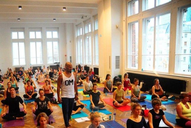 Bei der Yoga Planet wird wieder einiges geboten