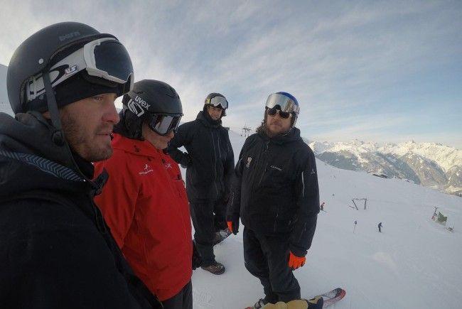 Alles ist bereit im Montafon: Snowboarder für WC gerüstet