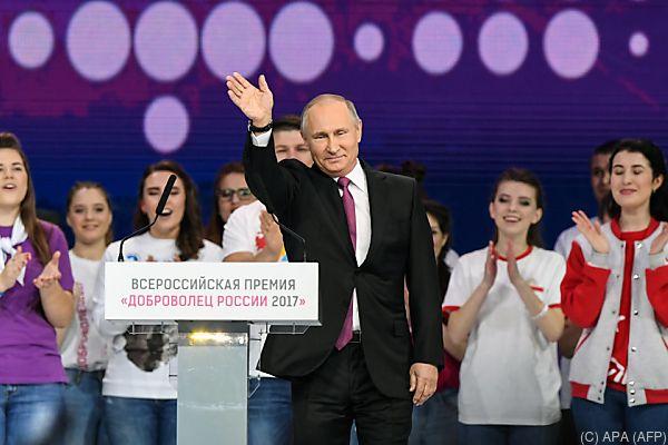 Putin strebt eine weitere Amtszeit an