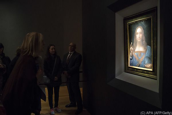 Das Gemälde war im November in New York versteigert worden