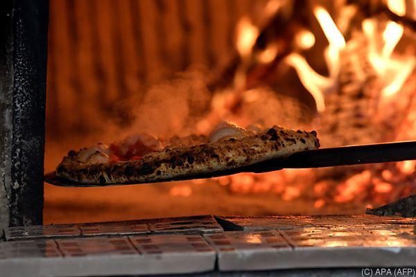 In Italien gibt es 35.000 Pizzerien