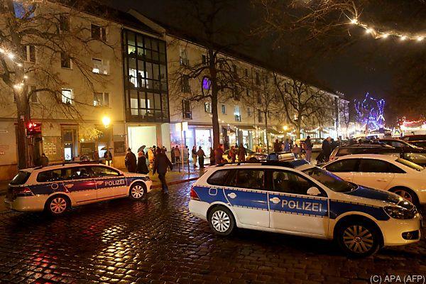 Der Bombenfund sorgte für einen Polizei-Großeinsatz