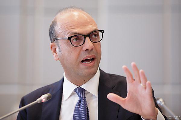 Italiens Außenminister Alfano für ausgewogene Lösung