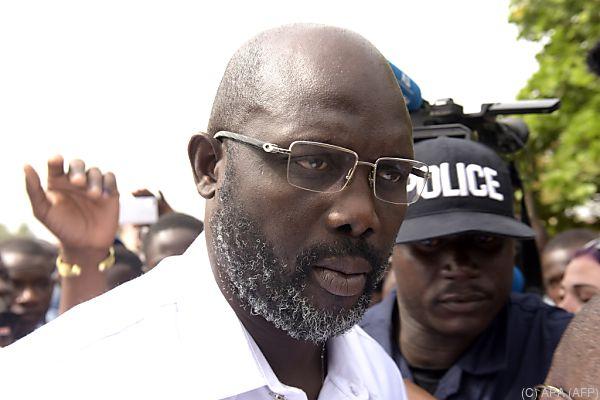 Weah ist Liberias neuer Präsident
