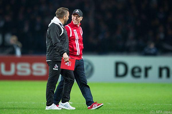 Peter Stöger und Manfred Schmid glauben an weitere Chance