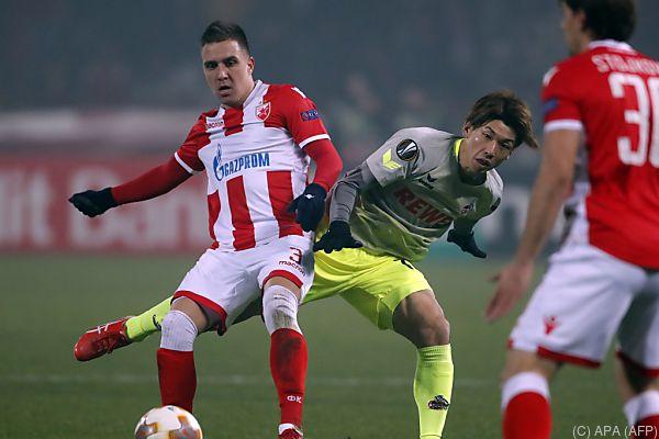 Kölns EL-Ambitionen endeten in Belgrad - 0:1 gegen Roter Stern
