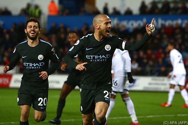 Manchester City war am Mittwoch nicht zu stoppen