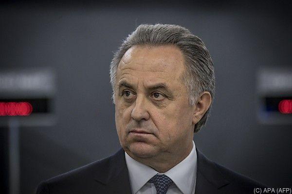 Mutko gilt als Vertrauter von Präsident Putin