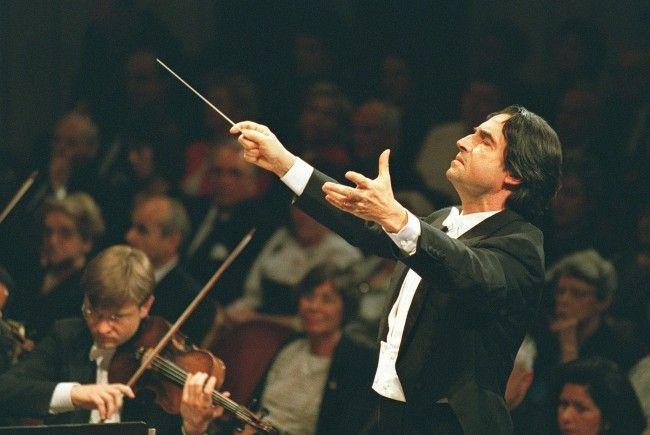 Maestro Riccardo Muti dirigiert 2018 das Neujahrskonzert mit einem Johann Strauß Sohn-lastigen Programm