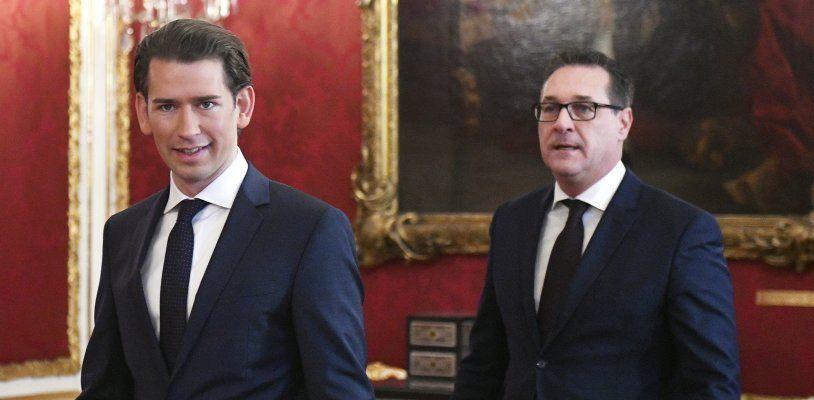 LIVE: ÖVP und FPÖ präsentieren ihren Koalitionspakt und die künftigen Minister