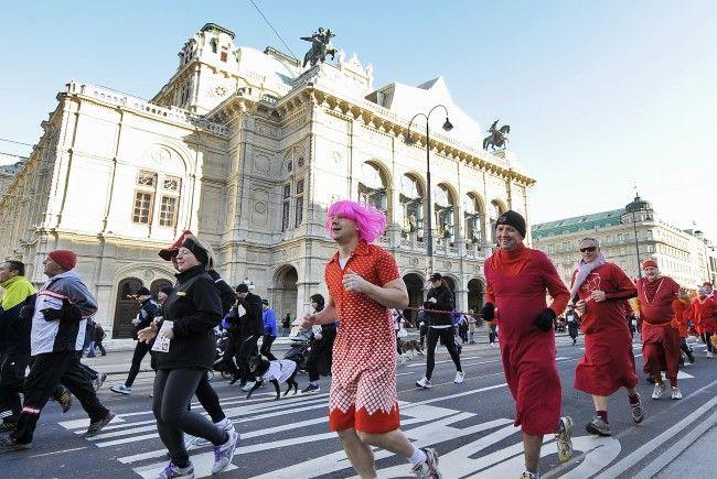 Der Silvesterpfad sorgt wieder für Straßensperren in Wien