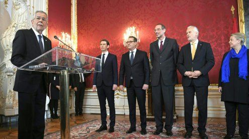 LIVE-Blog: Angelobung der neuen Bundesregierung in der Hofburg