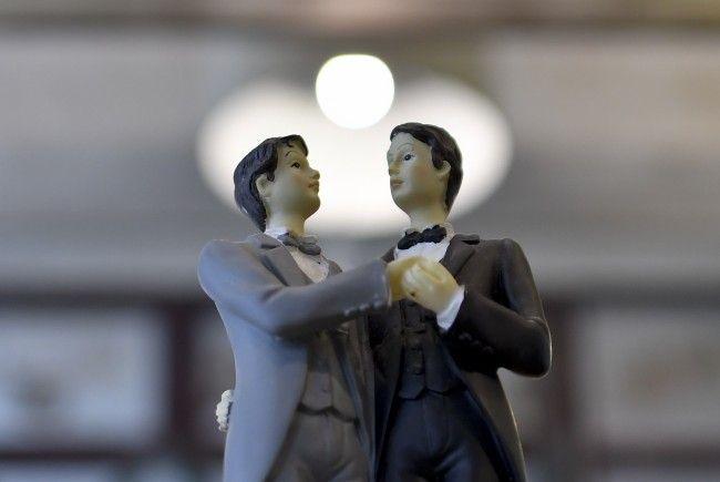 Homosexuelle dürfen künftig auch in Österreich heiraten.