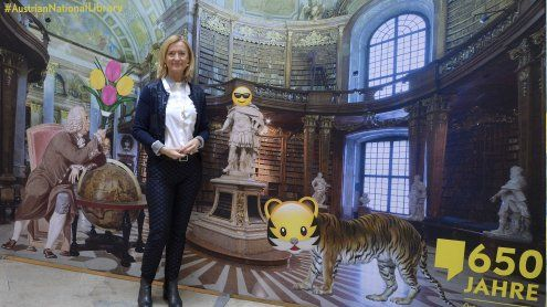 Nationalbibliothek hat Jubiläum: App, Ausstellung und Symposium