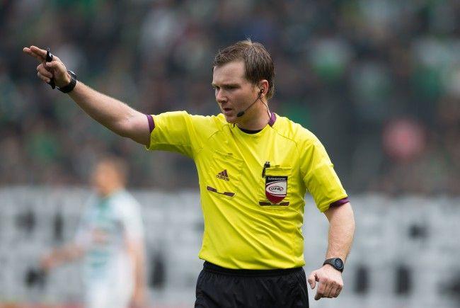Schiedsrichter Muckenhammer hatte Rapid Wien-Kapitän Schwab Charakterlosigkeit vorgeworfen.
