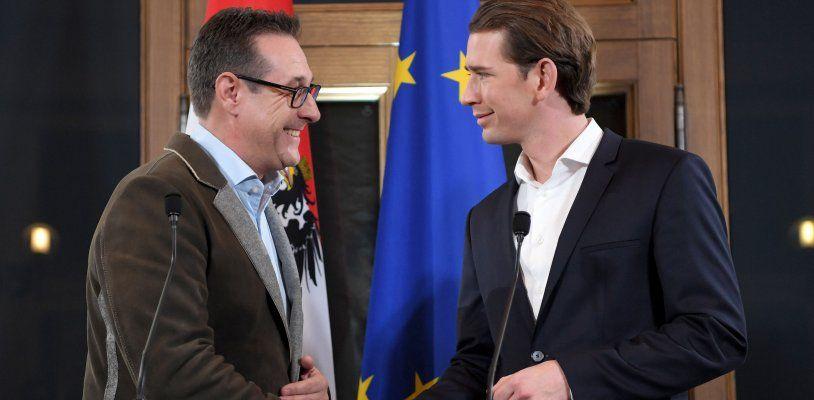 ÖVP und FPÖ sind sich einig: Regierungs-abkommen steht, Montag wird angelobt