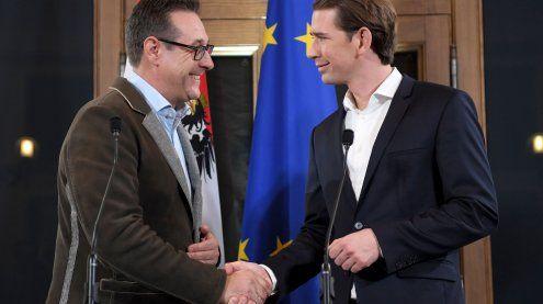 Koalition: Regierungsabkommen steht, am Montag wird angelobt
