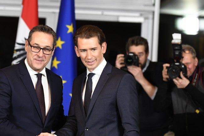 ÖVP und FPÖ haben am Samstag ihr Regierungsprogramm vorgestellt.