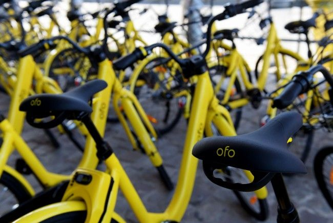 Nur 200 von 700 ofo-Fahrrädern bleiben bis Anfang Februar verfügbar.