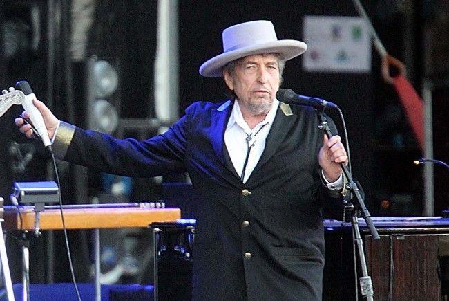Bob Dylan gibt 2018 ein Konzert in Wien.