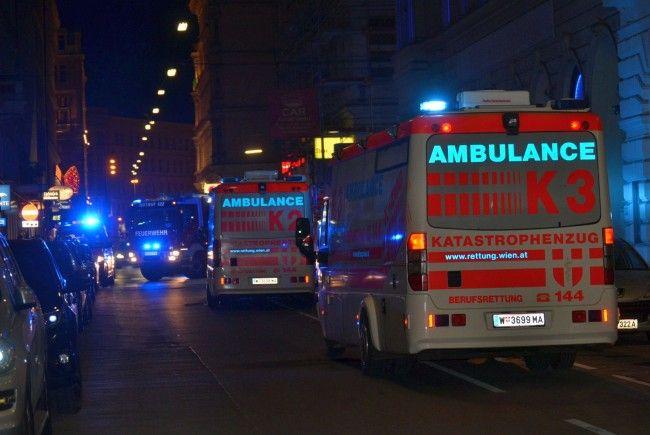 Am Montagabend gab es einen Großeinsatz in der Wiener Innenstadt.