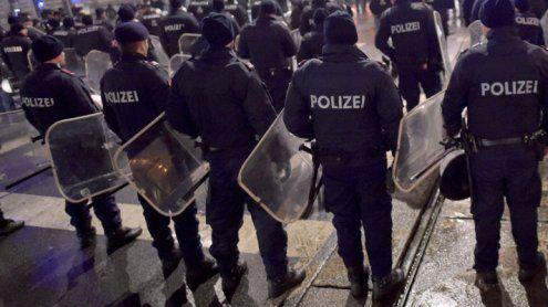 Anti-Sklaverei-Demo sorgt für Behinderungen am Wiener Ring
