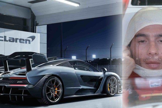 In diesem Super-McLaren schlummert Senna's Geist.