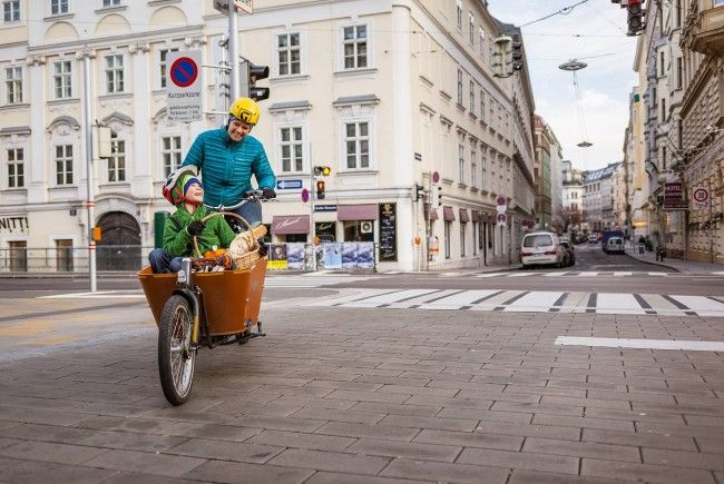Beim Kauf von Lastenfahrrädern zahlte die Stadt Wien bis zur Hälfte des Kaufpreises zurück.
