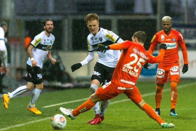 Die Austria unterlag Altach im Bundesliga-Spiel.