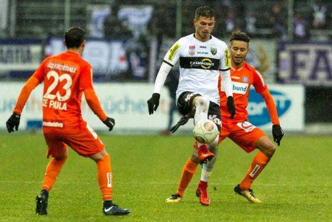 Austria Wien muss sich mit 0:1 gegen SCR Altach geschlagen geben.