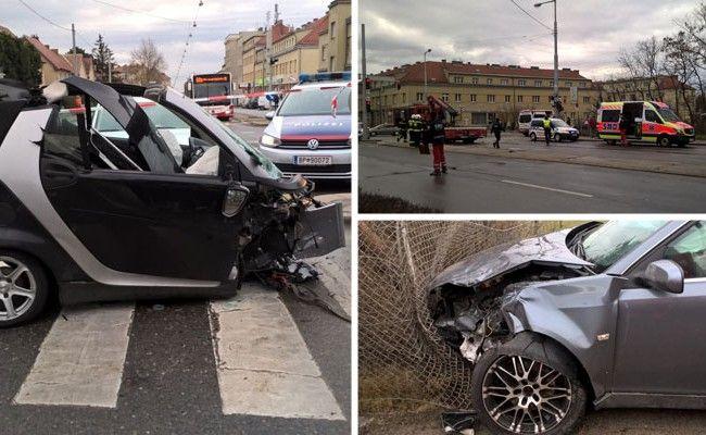 Autounfall in Wien-Favoriten: Smartfahrer aus Fahrzeug geschleudert ...