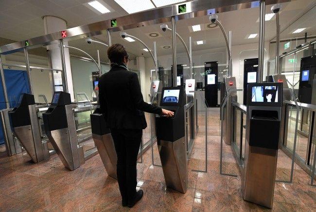 Die E-Gates sind nun am Flughafen Wien im Einsatz.