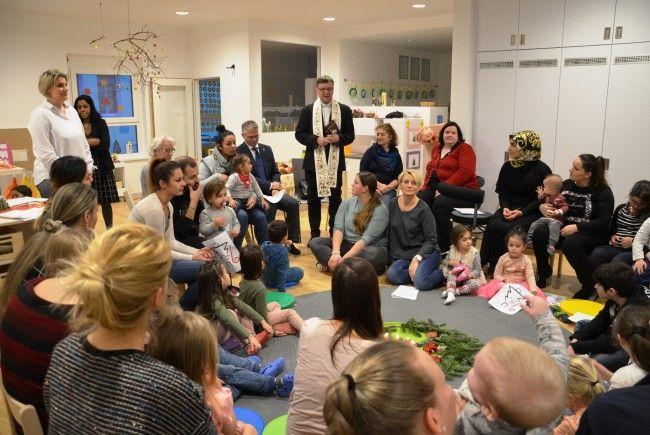Der neue Kindergarten der St. Nikolausstiftung wurde in Wien-Favoriten eröffnet.