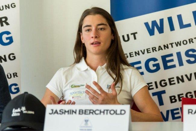 Traumstart für Jasmin Berchtold