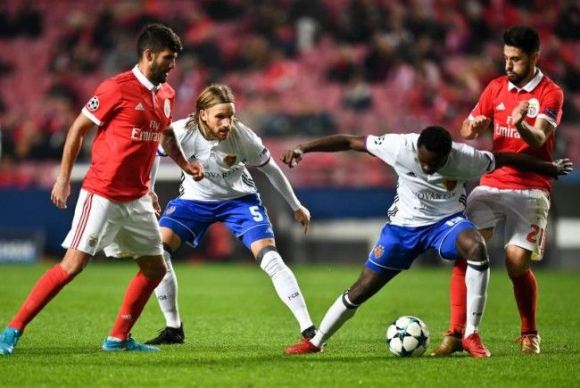 Oberlin und der FC Basel jubeln