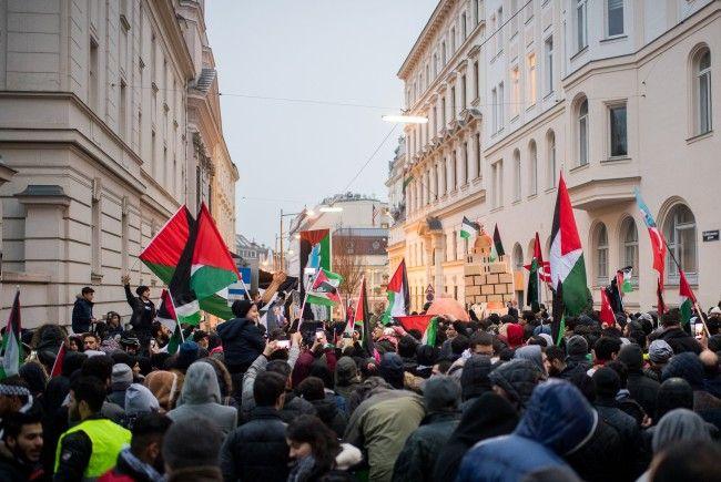 Am Samstag ist eine erneute Jerusalem-Demo vor der US-Botschaft in Wien geplant.