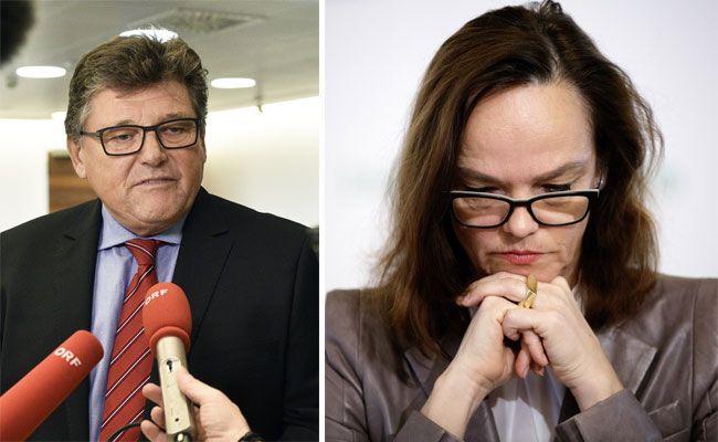 Rainer Wimmer und Sonja Hammerschmid wehren sich gegen aktuelle Pläne von Schwarz-Blau