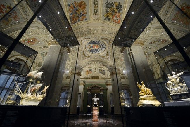 Das Kunsthistorische Museum in Wien im Dezember.
