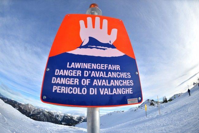 Die Lawinengefahr auf Niederösterreichsbergen ist zum Teil erheblich.