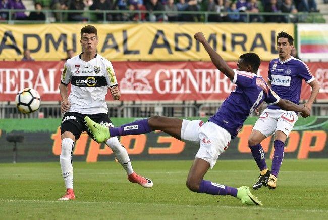 Heute im LIVE-Ticker: SCR Altach gegen FK Austria Wien in der Bundesliga.